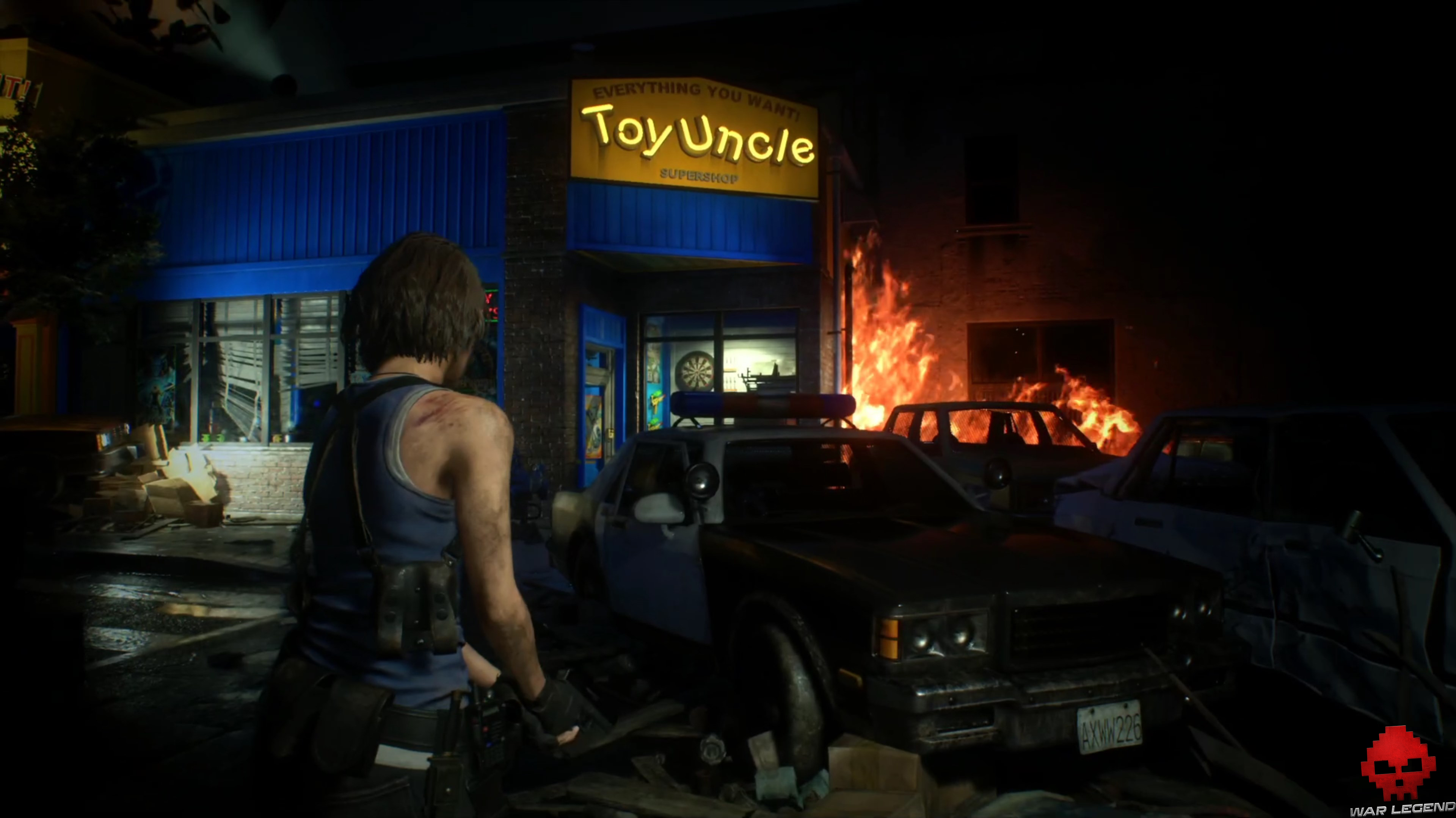 resident evil 3 - magasin toy's uncle