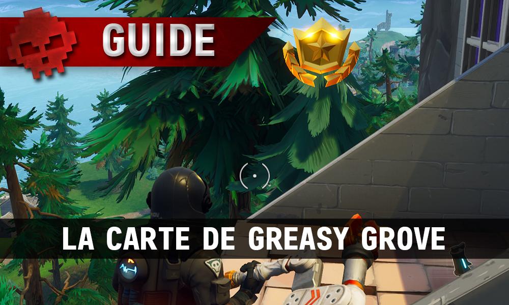 carte tresor greasy grove Fortnite Carte Greasy Grove   Dagmar Ellerman