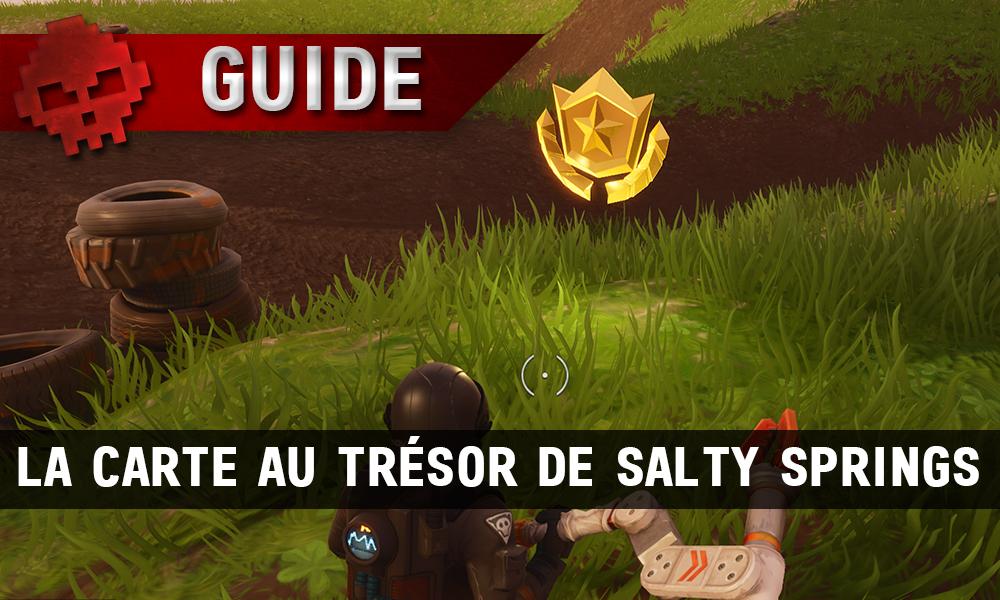Guide Fortnite Battle Royale Saison 4 Semaine 3 La Carte Au