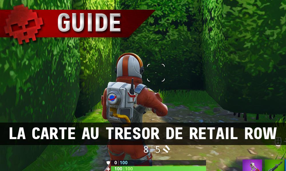 Carte Au Tresor Semaine 8.Guide Fortnite Battle Royale Passe De Combat Semaine 7