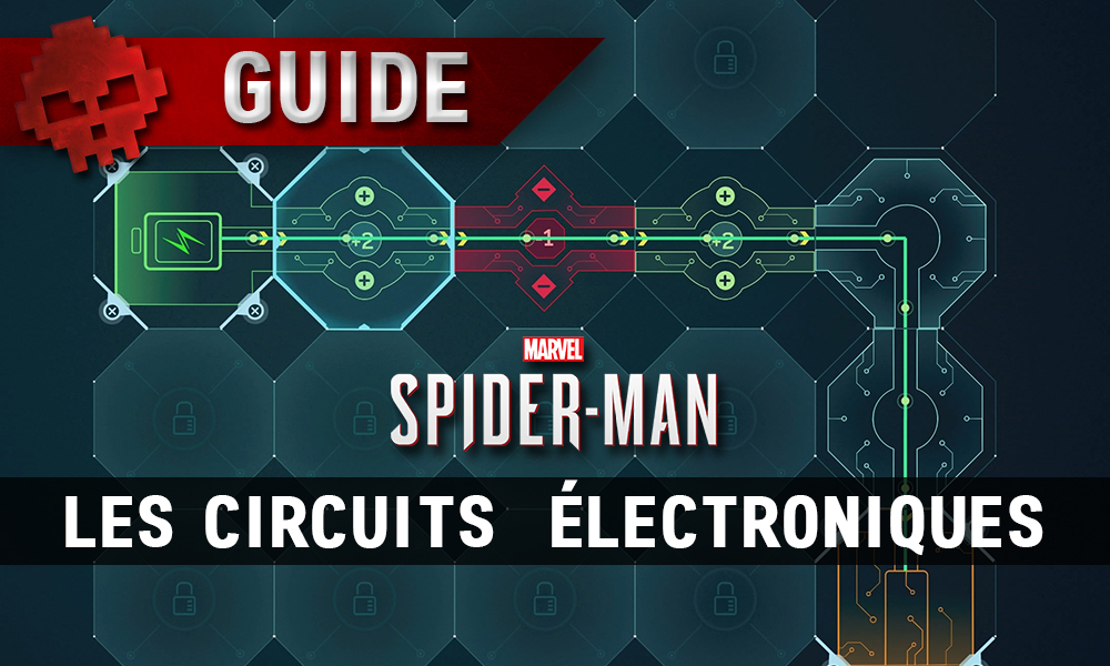 Vignette Guide Circuits électroniques Spider-Man