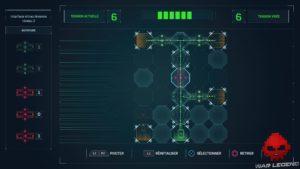 Test Spider-Man - Schéma circuit électronique.