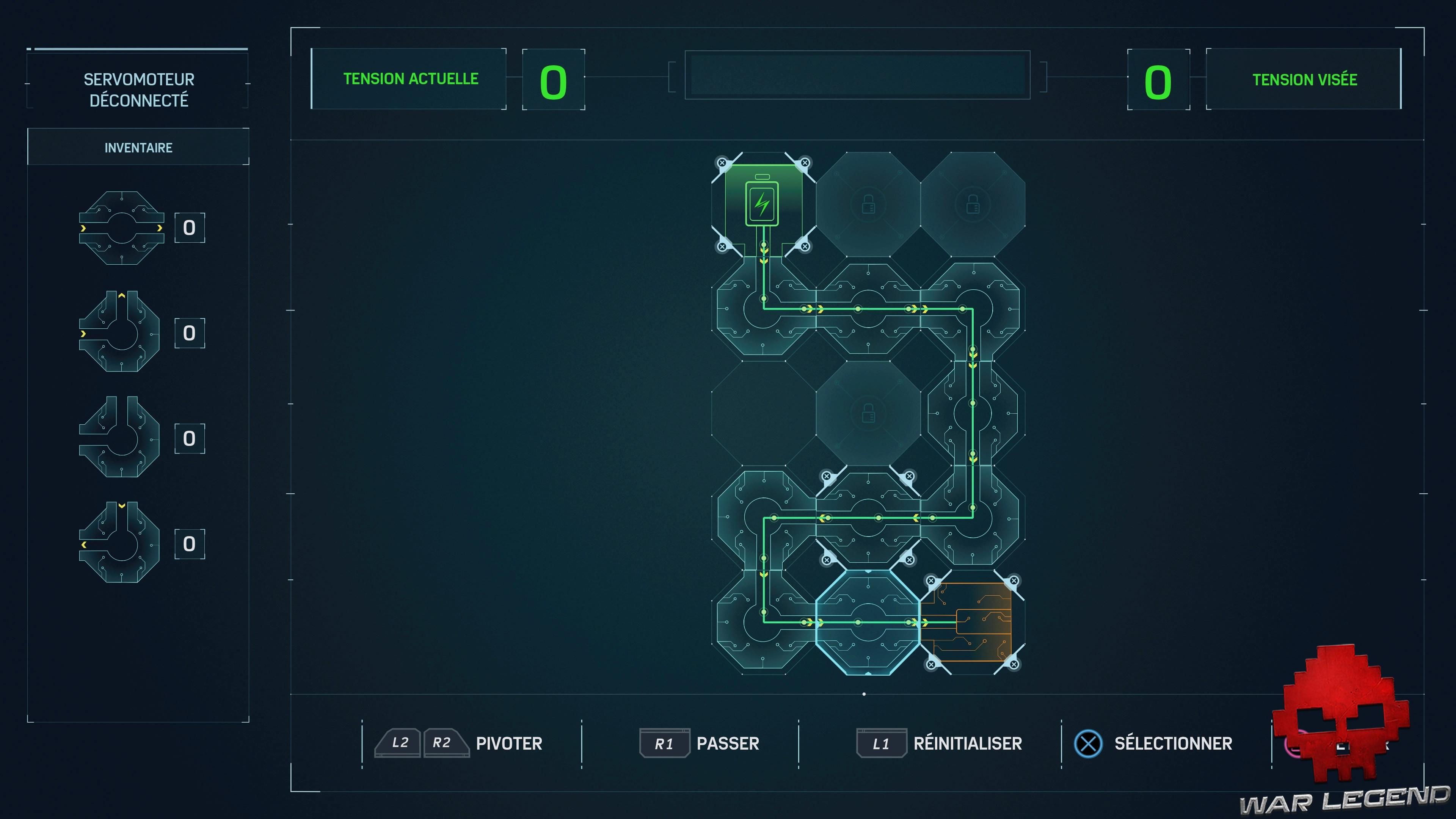guide Spider-Man Circuits Servomoteur déconnecté