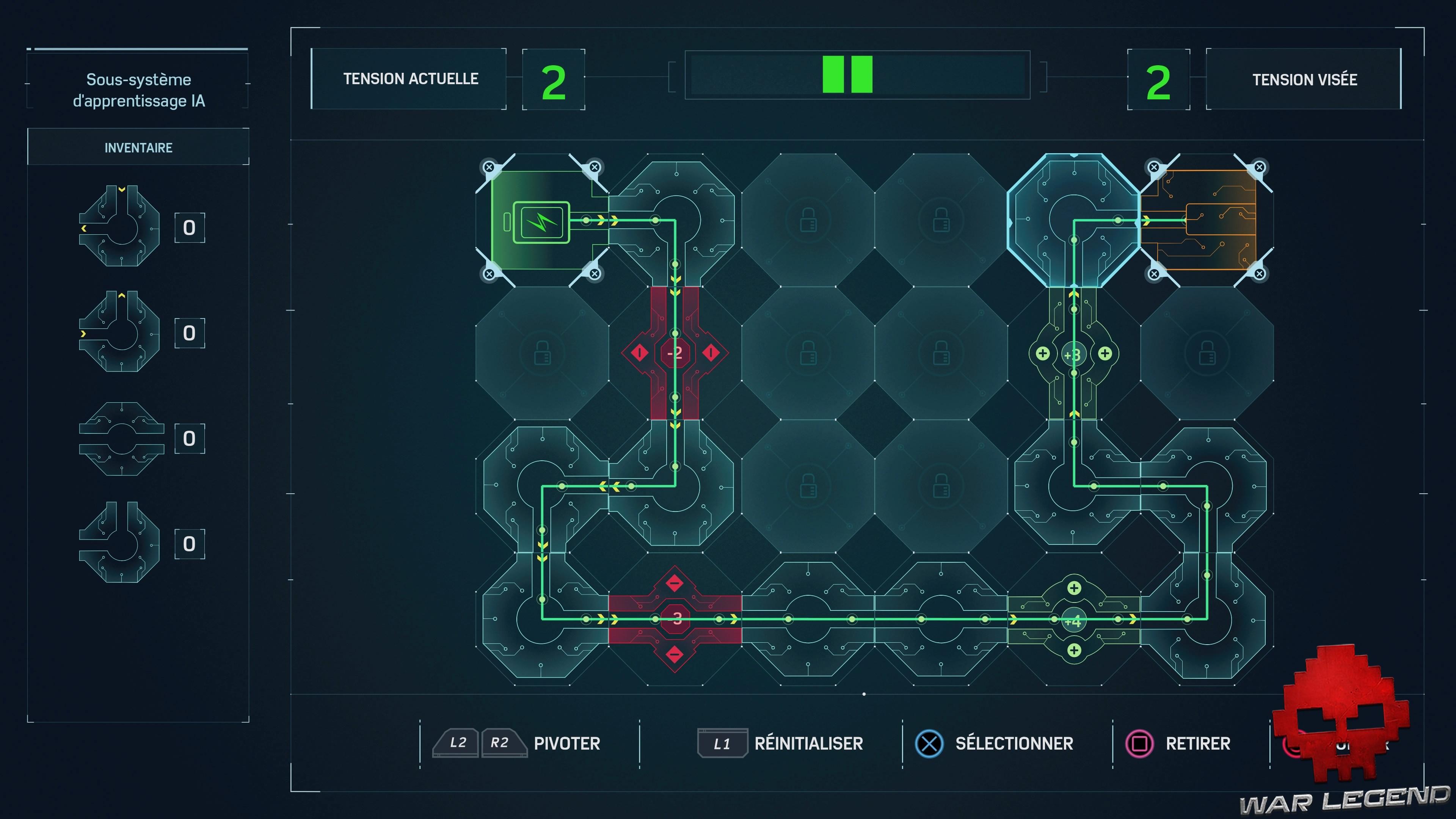 guide Spider-Man Circuits électroniques  Sous-système d'apprentissage IA