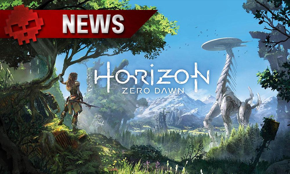 """Microsoft - La firme veut développer un jeu """"similaire"""" à Horizon Zero Dawn - Nature sauvage, dinosaure robotique et personnage principal."""