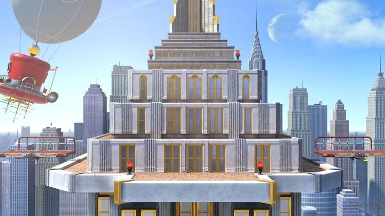Le nouveau stade tout droit venu de Super Mario Odyssey