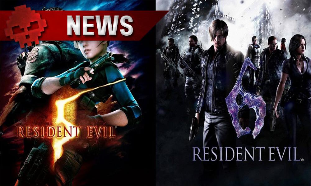 resident evil 5 et 6