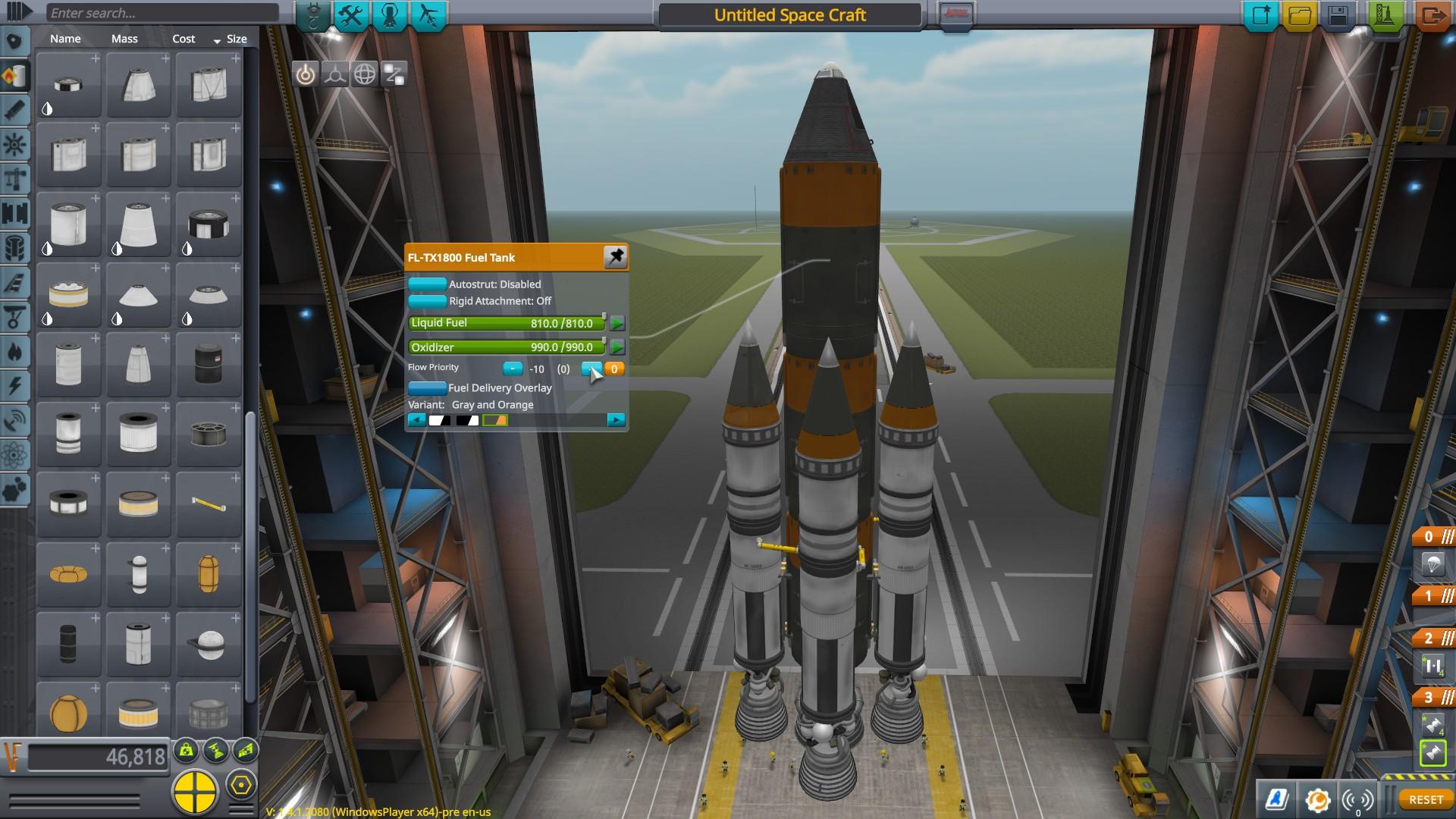 Kerbal Space Program plateforme de lancement