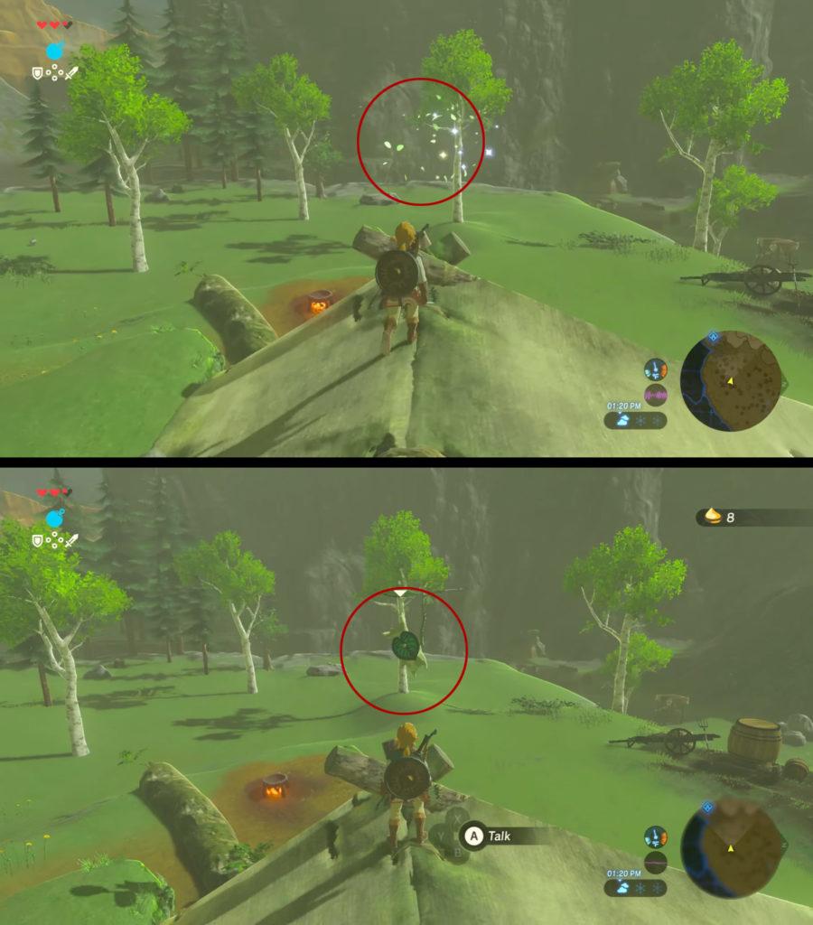 Guide The Legend of Zelda: Breath of the Wild – Les bons réflexes pour bien démarrer Korogu