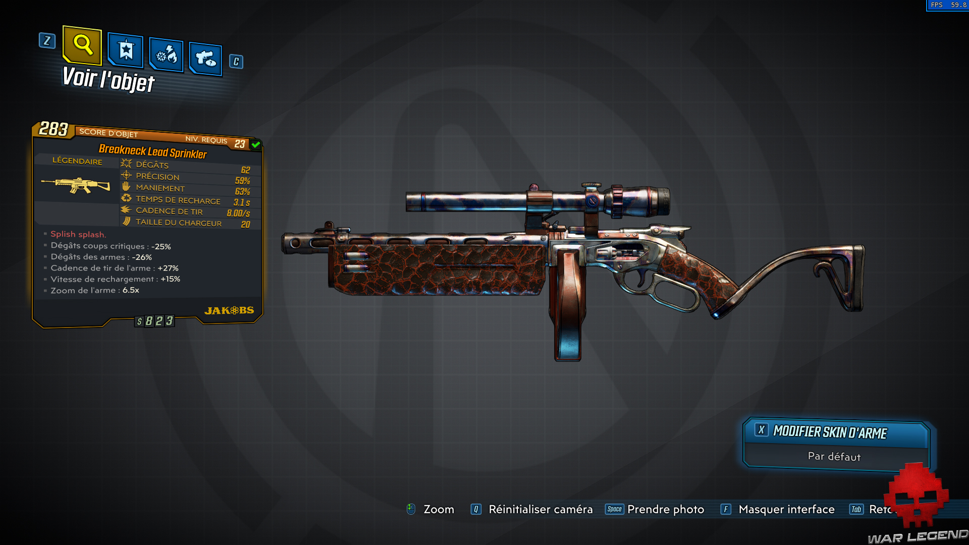 guide borderlands 3 légendaire sprinkler