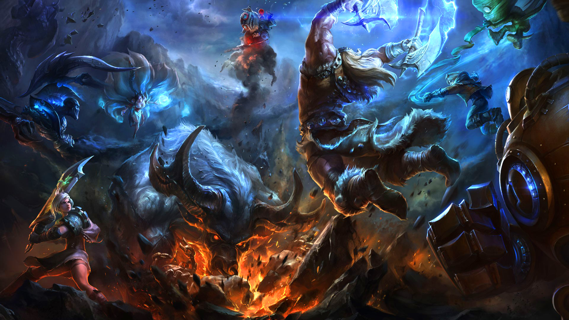 League of Legends champions cover
