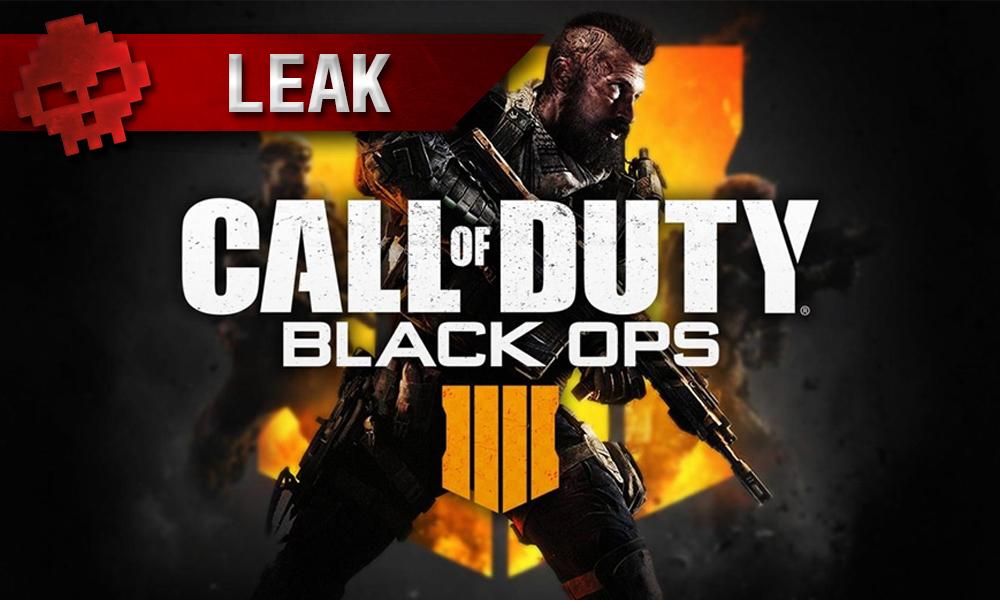 vignette leak Call of Duty: Black Ops 4
