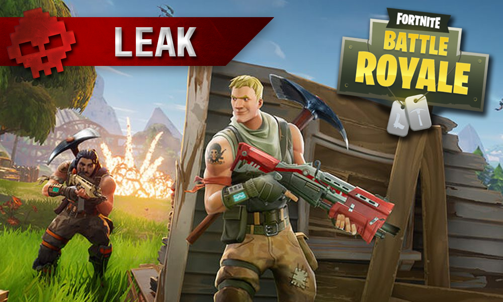 leak Fortnite Battle Royale