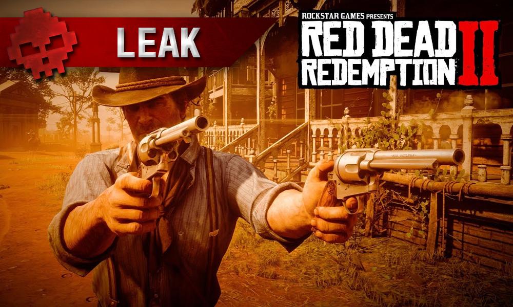 vignette fuite leak Red Dead Redemption 2