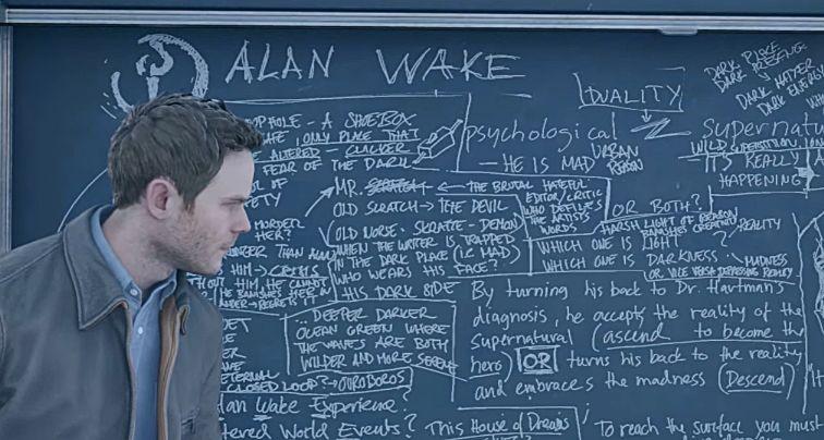 Alan Wake Easter Egg dans Quantum Break