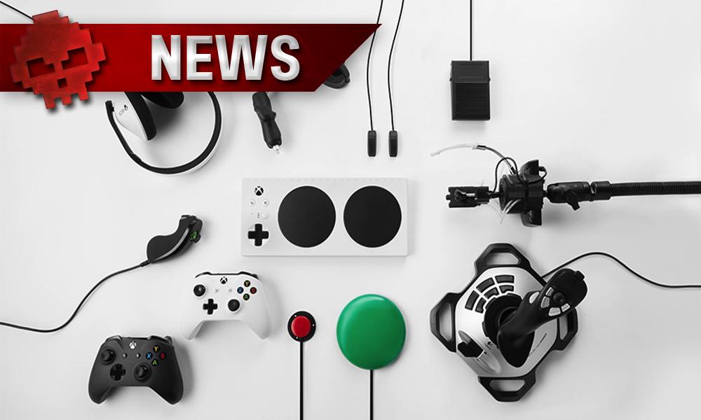 Manette adaptative Xbox et PC vignette news