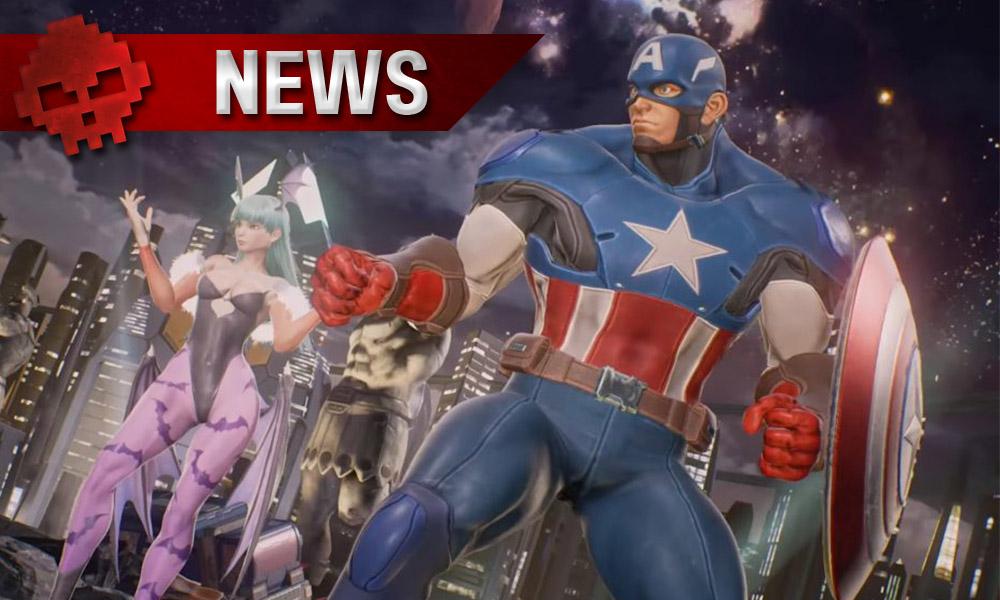 Marvel vs Capcom Infinite : Captain America et Morrigan seront jouables