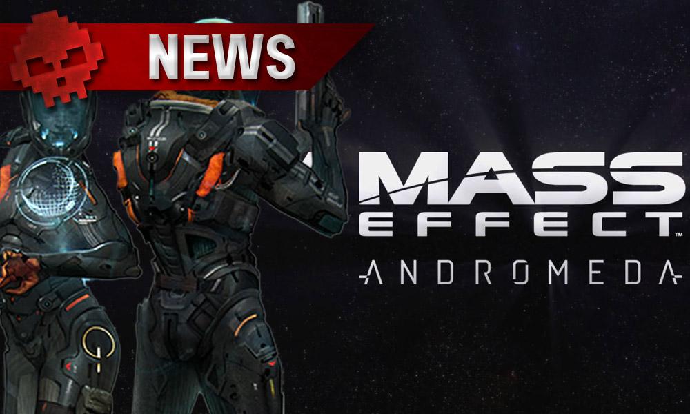 Mass Effect Andromeda - Première vidéo du gameplay Présentation de quelques nouveautés