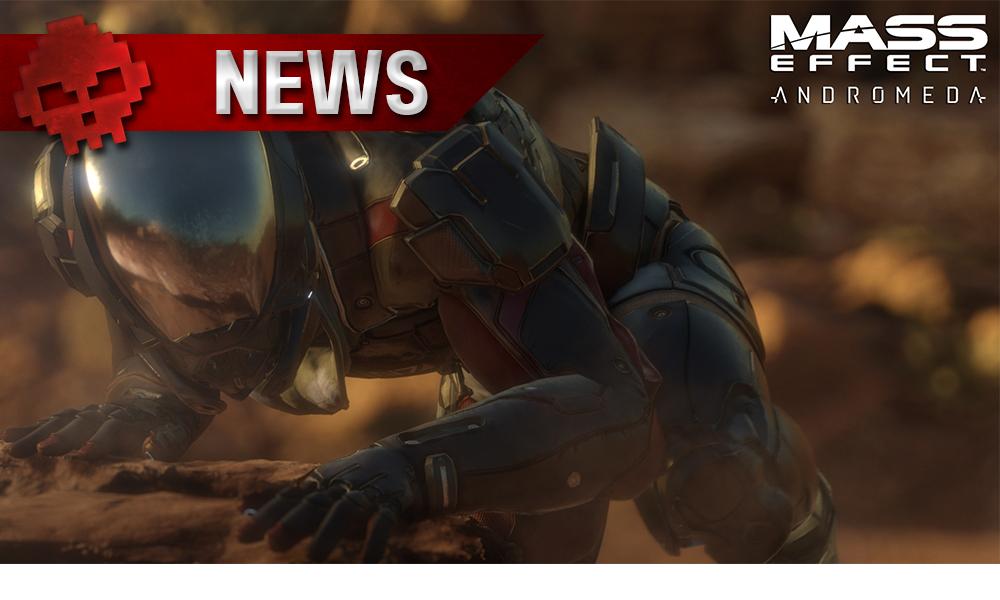 BioWare - L'annonce de la nouvelle licence restera en suspens Soldat en combinaison futuriste regardant depuis un rocher