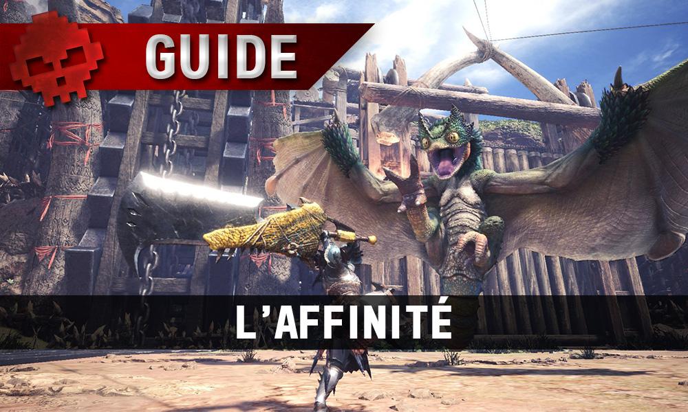 Guide sur l'affinité - Une chasseur face au pukei-pukei