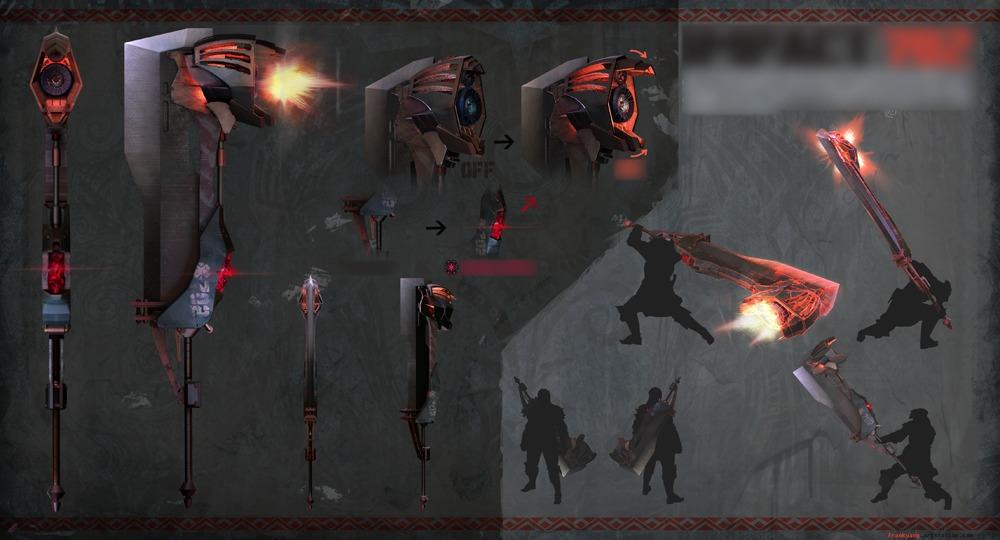 Wyvern Ignition, la grande épée ayant gagné le concours de design d'arme pour Monster Hunter World