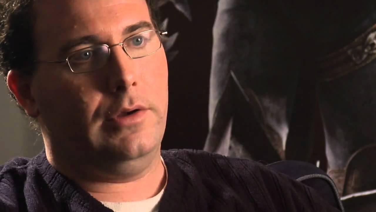 Photo Mike Laidlaw directeur créatif de Dragon Age