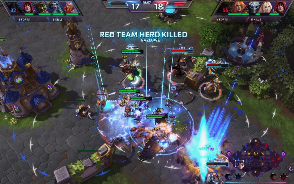 mode spectateur heroes of the storm