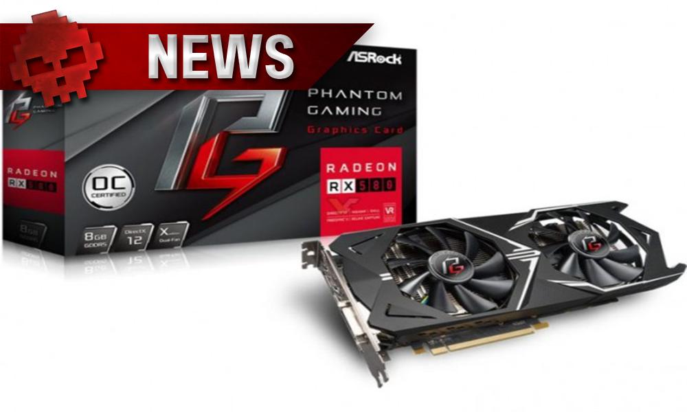 Radeon RX 580 Phantom Gaming X