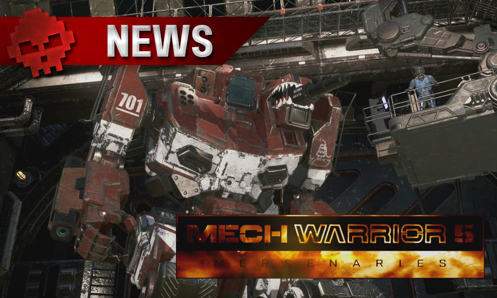 Mechwarrior 5: Mercenaries - Un trailer de gameplay qui pèse