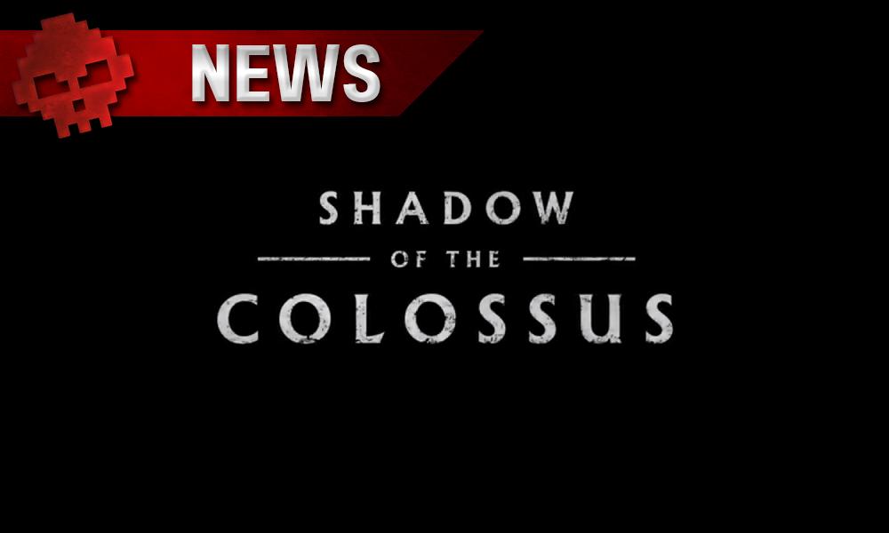 Shadow of the Colossus - Le directeur du jeu souhaite modifier le remake PS4 - Logo