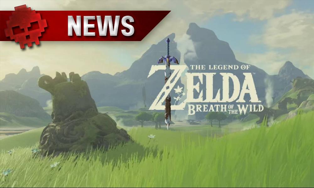 The The Legend of Zelda: Breath of the Wild - Un prototype 2D a été utilisé pendant le développement Paysage vert avec des montagnes