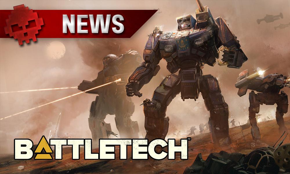 Battletech - L'histoire et une date pour la bêta