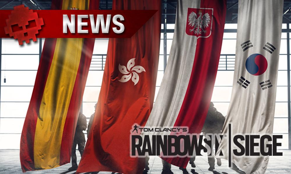 Rainbow Six Siege - Contenu deuxième année