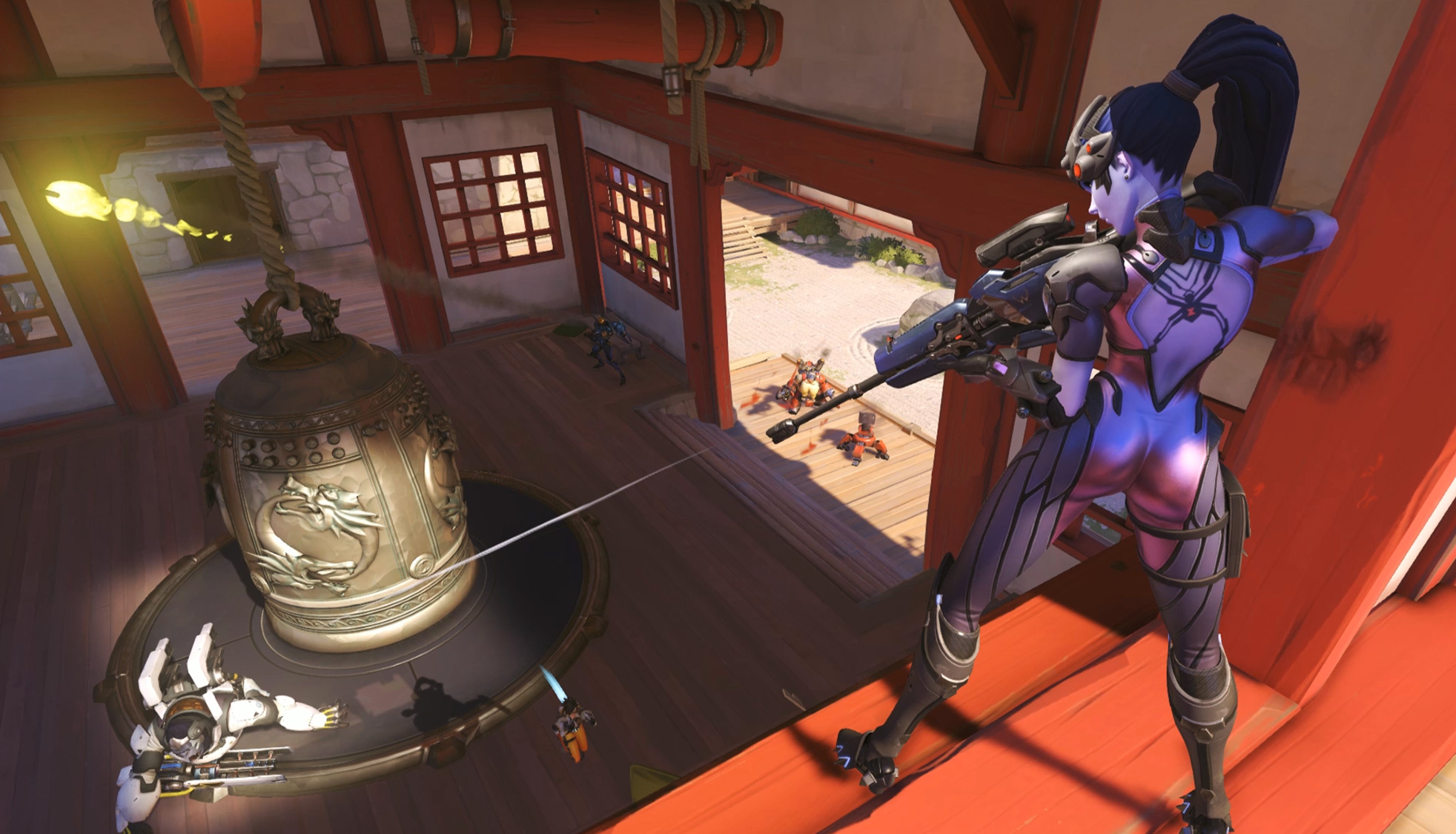 Overwatch fatale en train de viser
