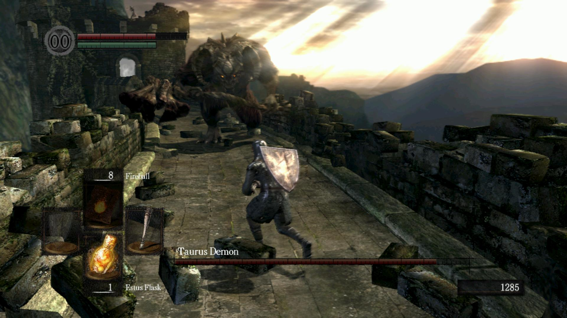 Dark Souls minotaure