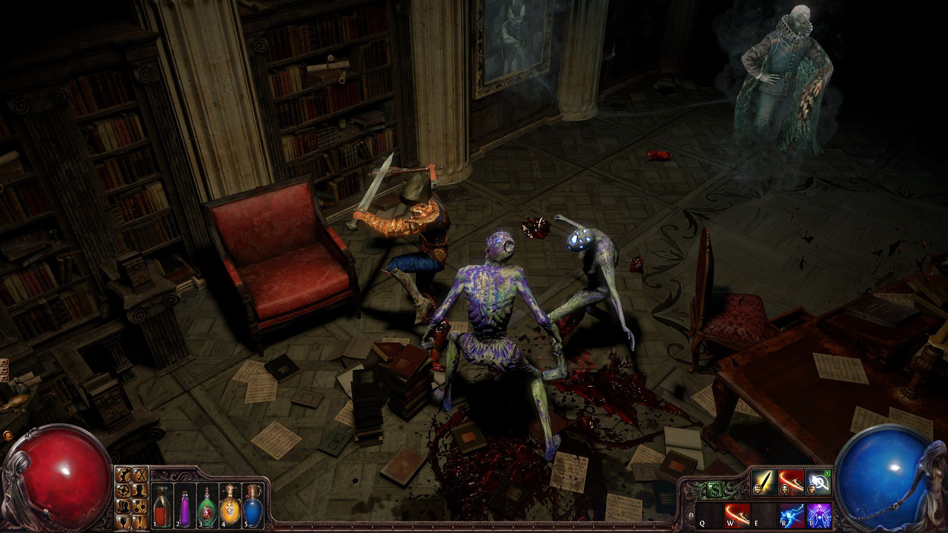 path of exile melee