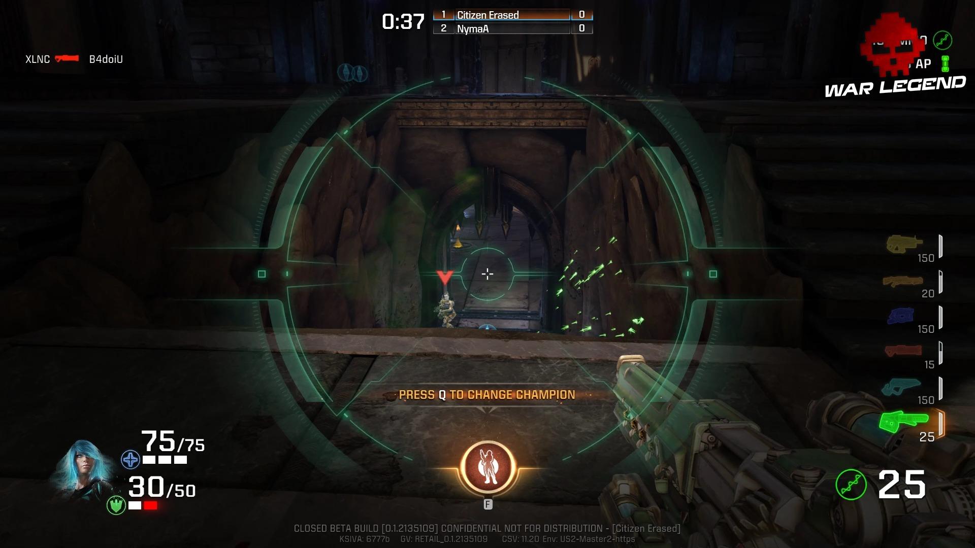 Aperçu Quake: Champions