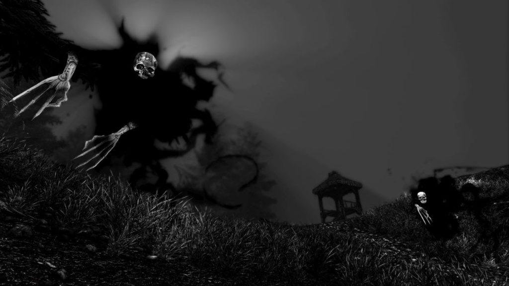 Betrayer - de terrifiants fantômes dans une plaine