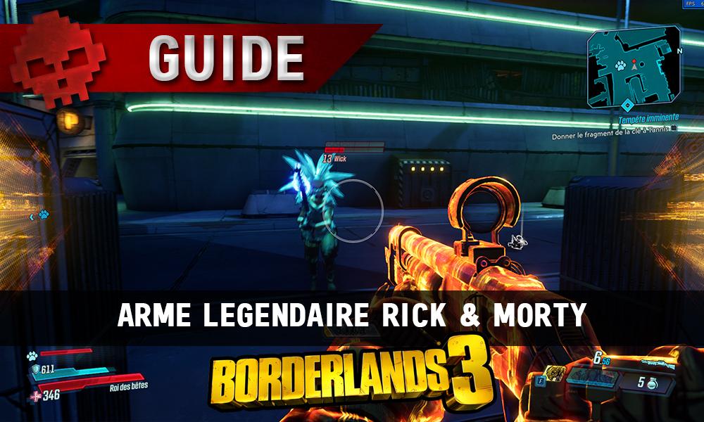vignette guide borderlands 3 rick & morty
