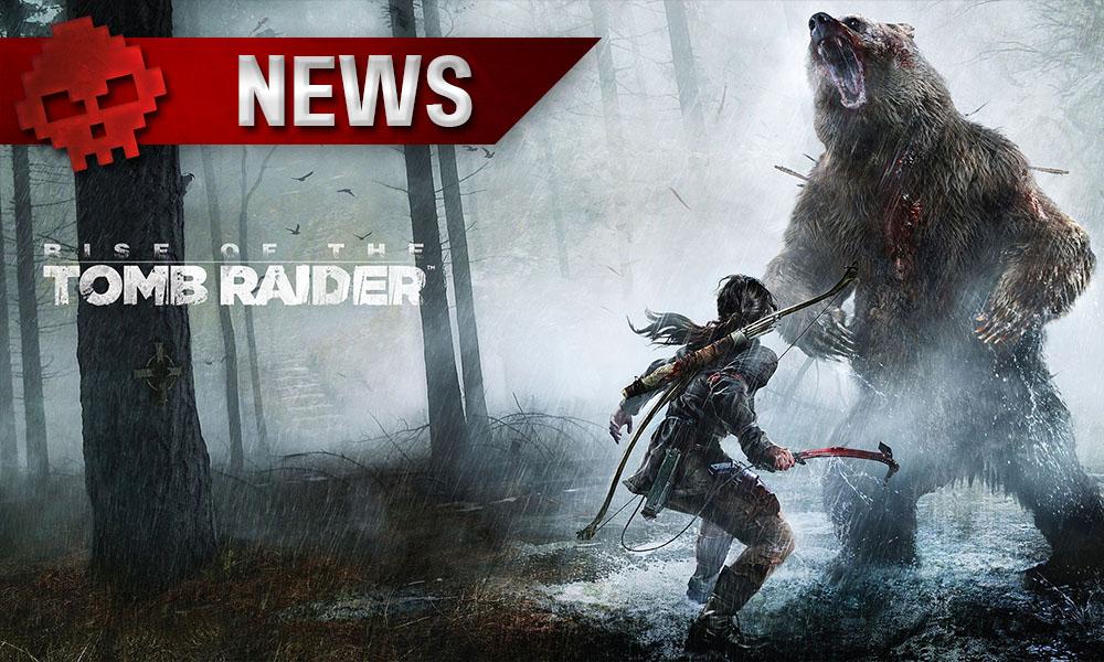 Tomb Raider - L'auteur principal quitte Crystal Dynamics Lara Croft combattant un ours