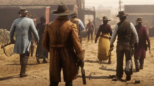 Screenshot Red Dead Online