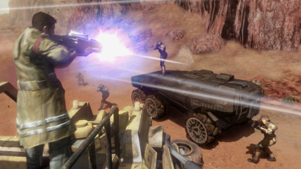 Red Faction Guerrilla Re-Mars-tered officialisé sur consoles et PC