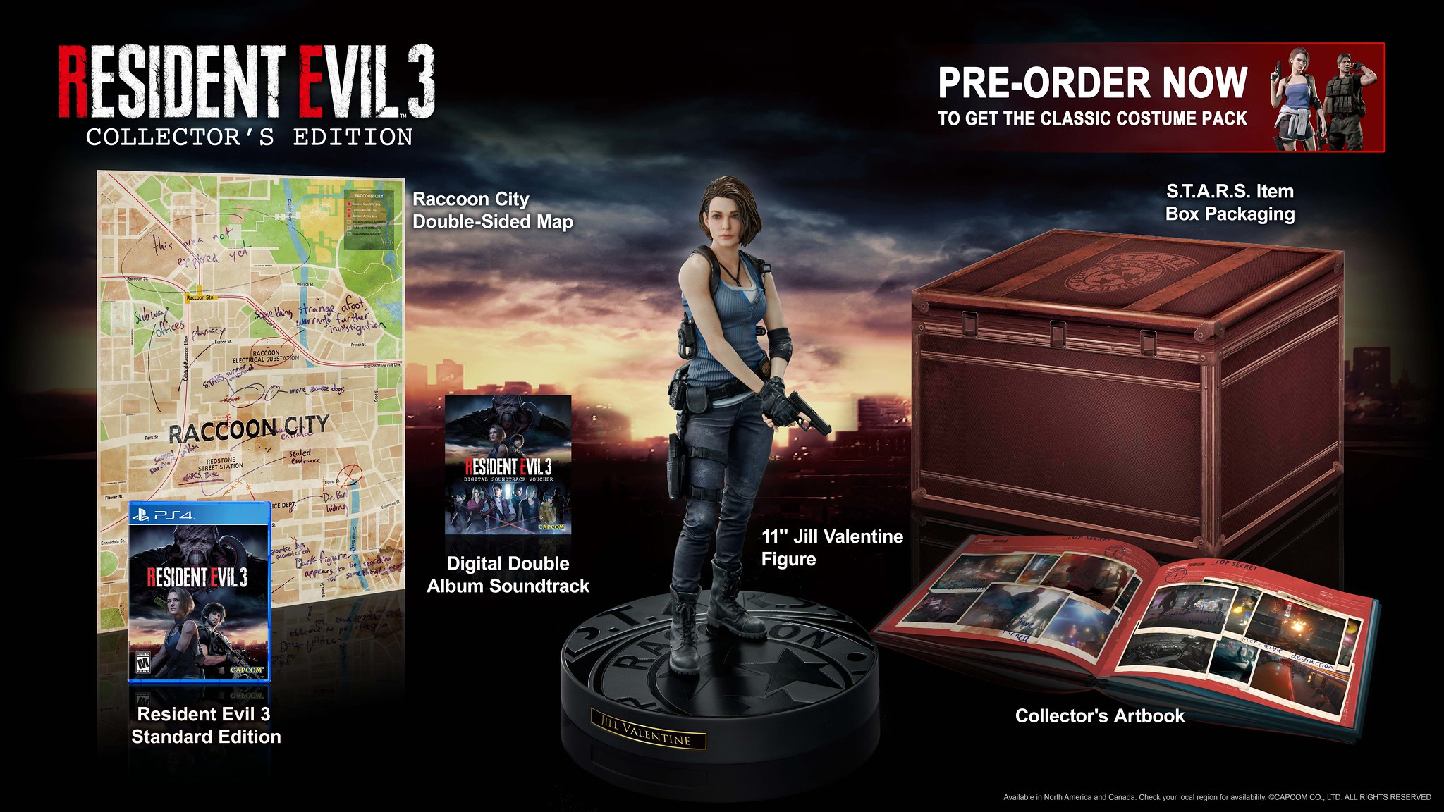 resident evil 3 collector