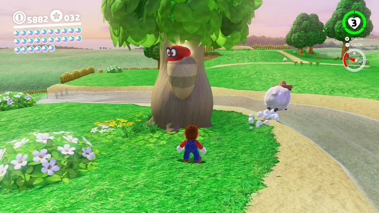Soluce Super Mario Odyssey Les Lunes Royaume Champignon