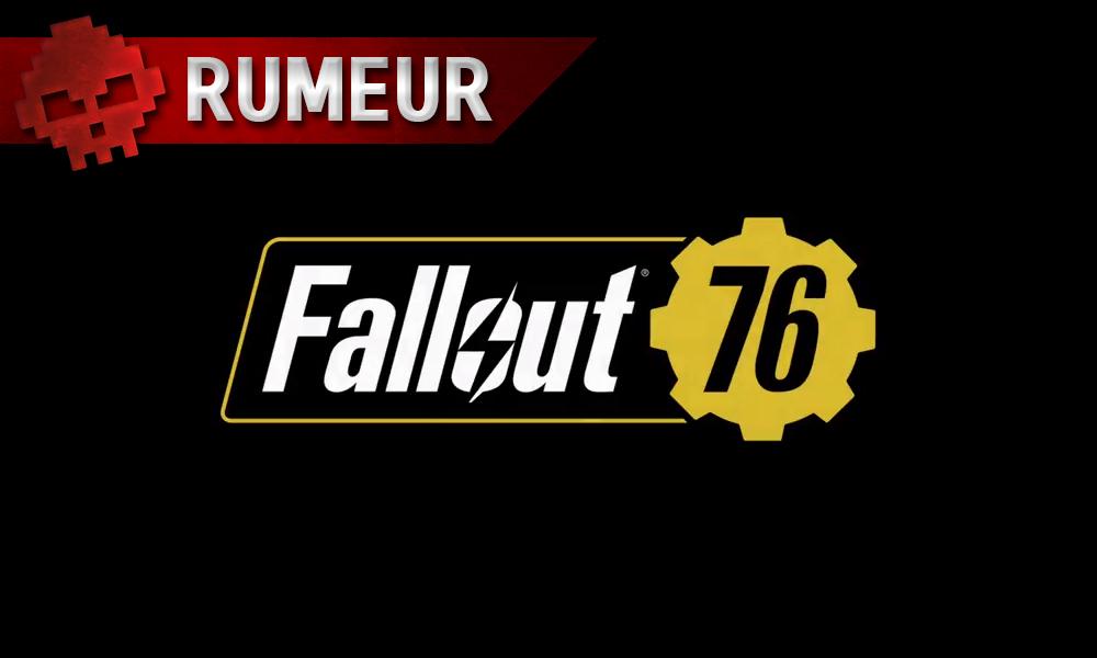 fallout 76 serait un jeu de survie en ligne comme rust ou dayz. Black Bedroom Furniture Sets. Home Design Ideas
