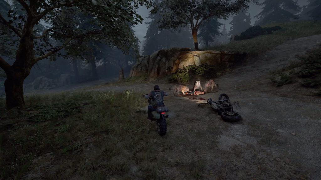Une petite balade à moto