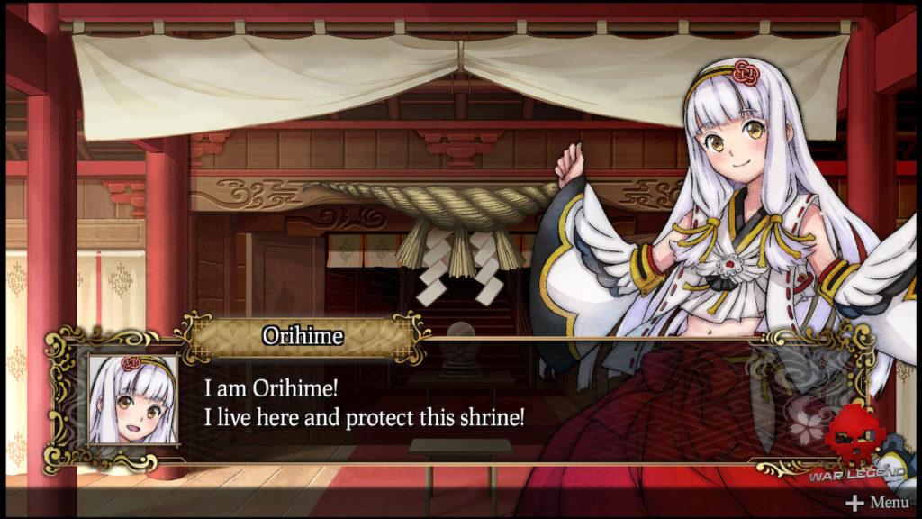 Orihime, une prêtresse dans son sanctuaire