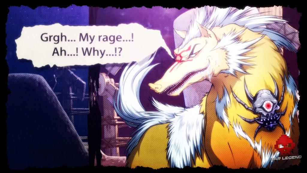 Ookami, le dieu loup dans God Wars