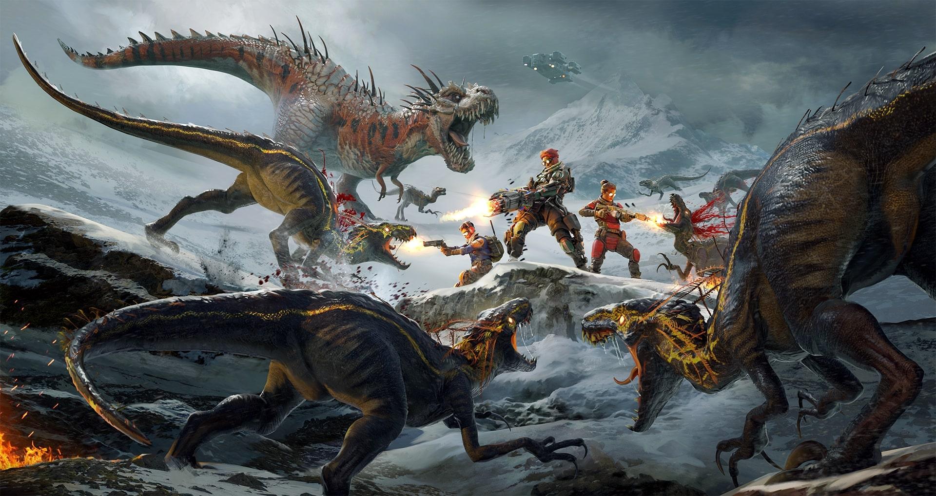 Second extinction artwork