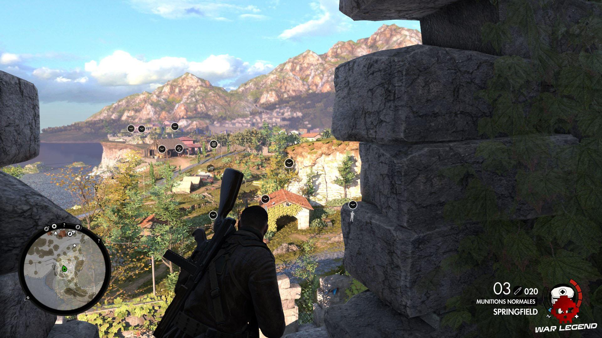 Test Sniper Elite 4 ennemis marqués